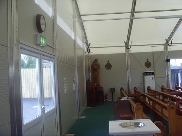 St Peter's Temporary Church 3